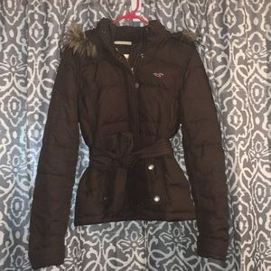Hollister winter jacket.